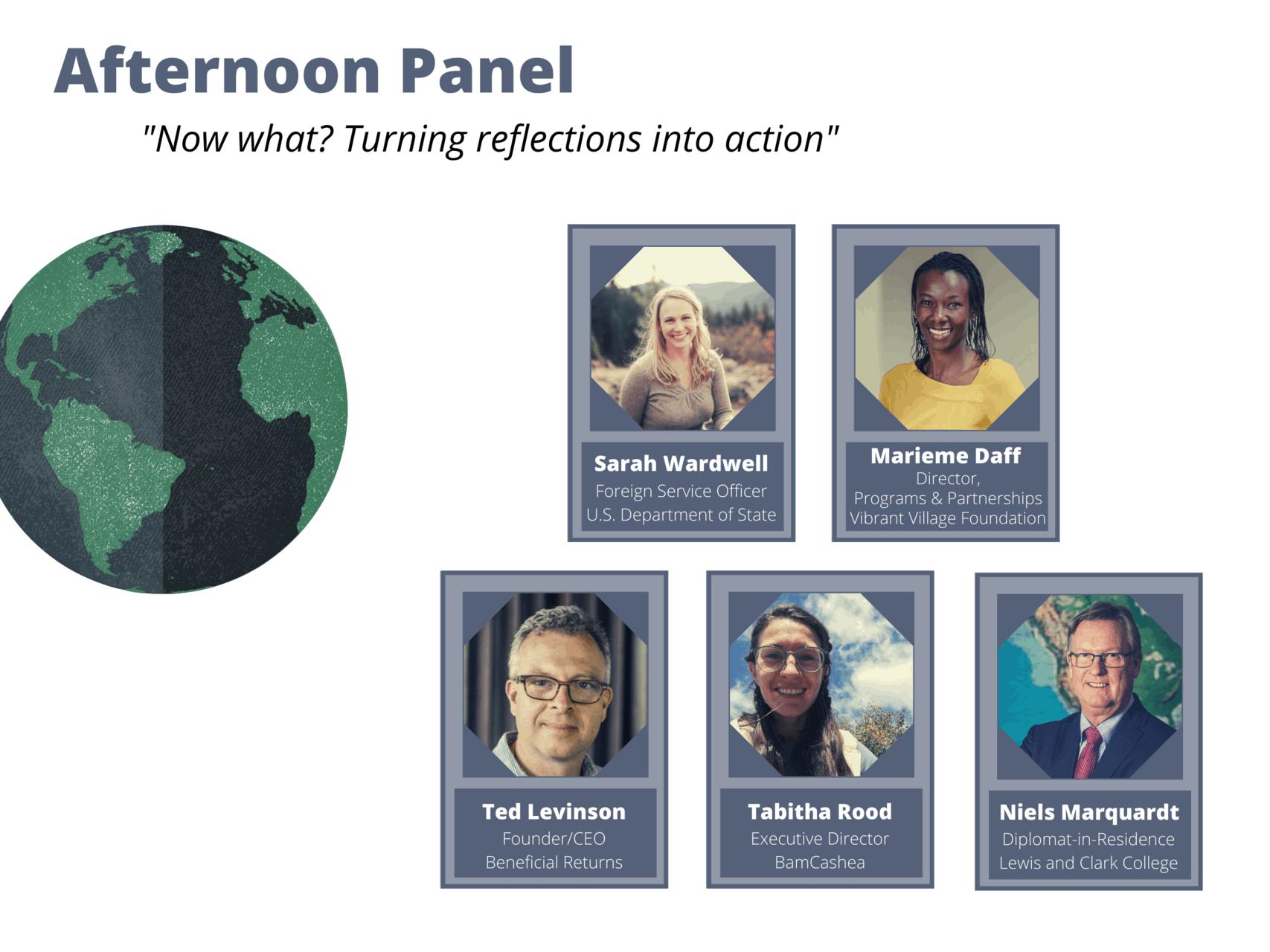 Afternoon Panel Speakers